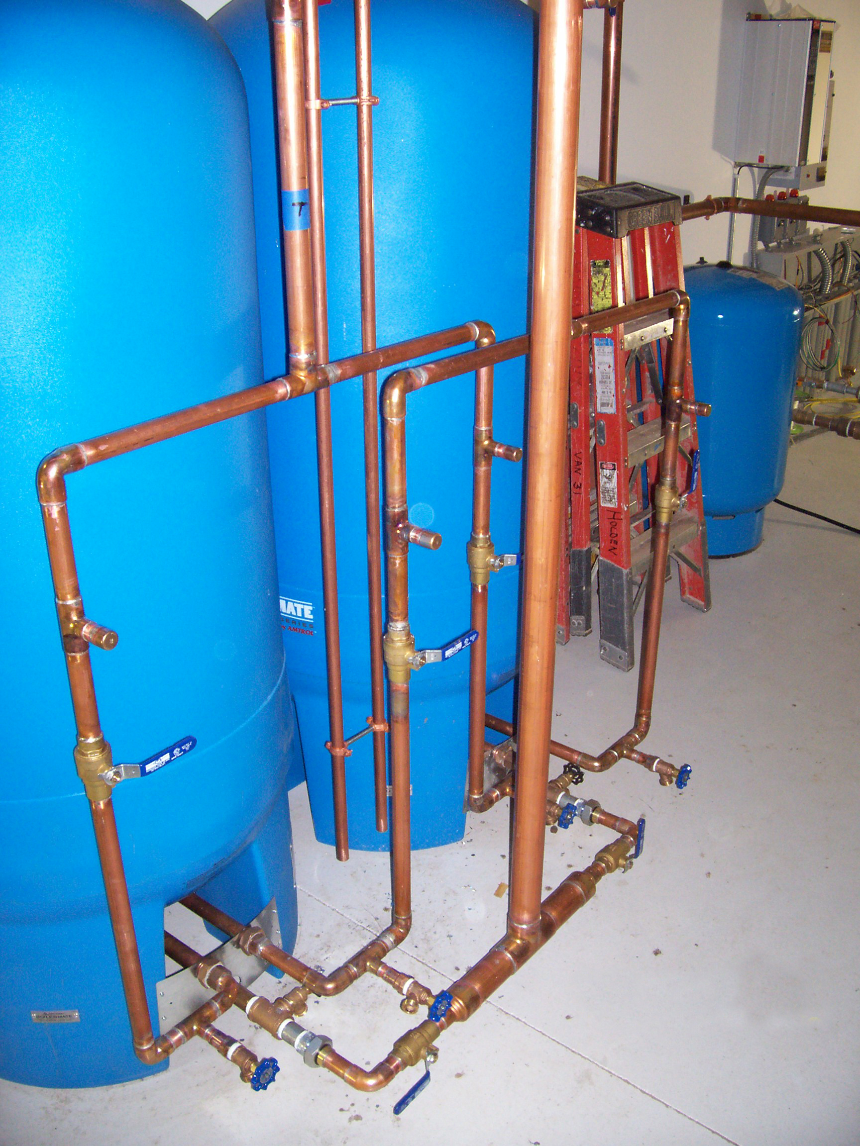 Commercial plumbing photos aitkin mn commercial plumbing for Used hot water heater